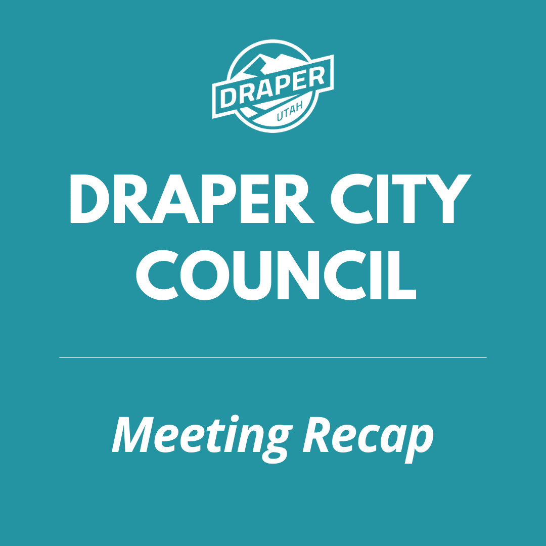 Draper City Council Recap Icon